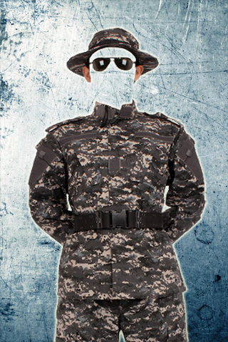 Military Suit Photo Maker