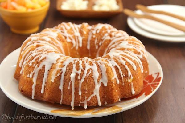 Candy Corn Bundt Cake Recipe