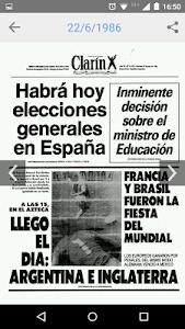 Tapas de Clarín screenshot 4