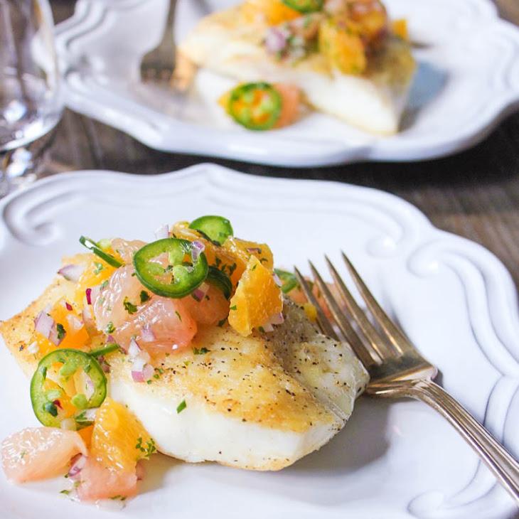 Citrus Cayenne-Poached Halibut Recipes — Dishmaps