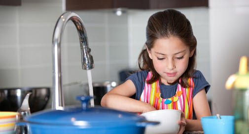 Chores and your child: What to expect and when