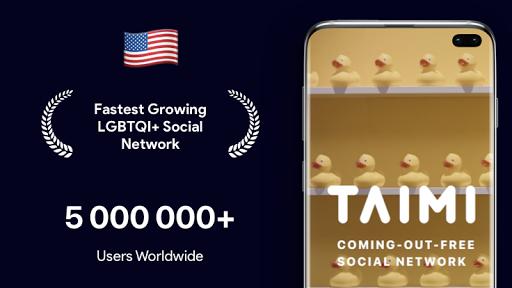 Taimi - LGBTQI+ Dating, Chat and Social Network 5.1.58 screenshots 1