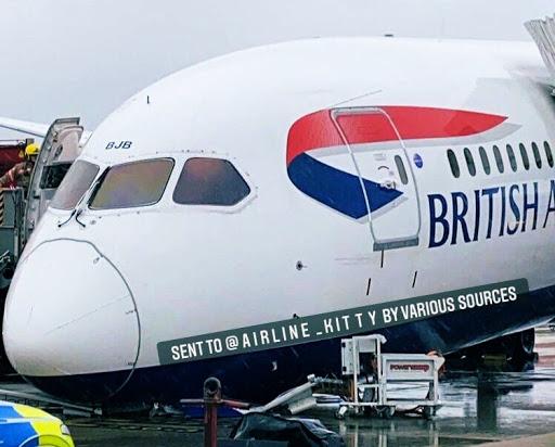 Breaking: British Airways 787 Suffers Nose Gear Collapse