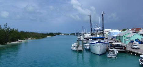 Photo: The busy harbor at Spanish Wells