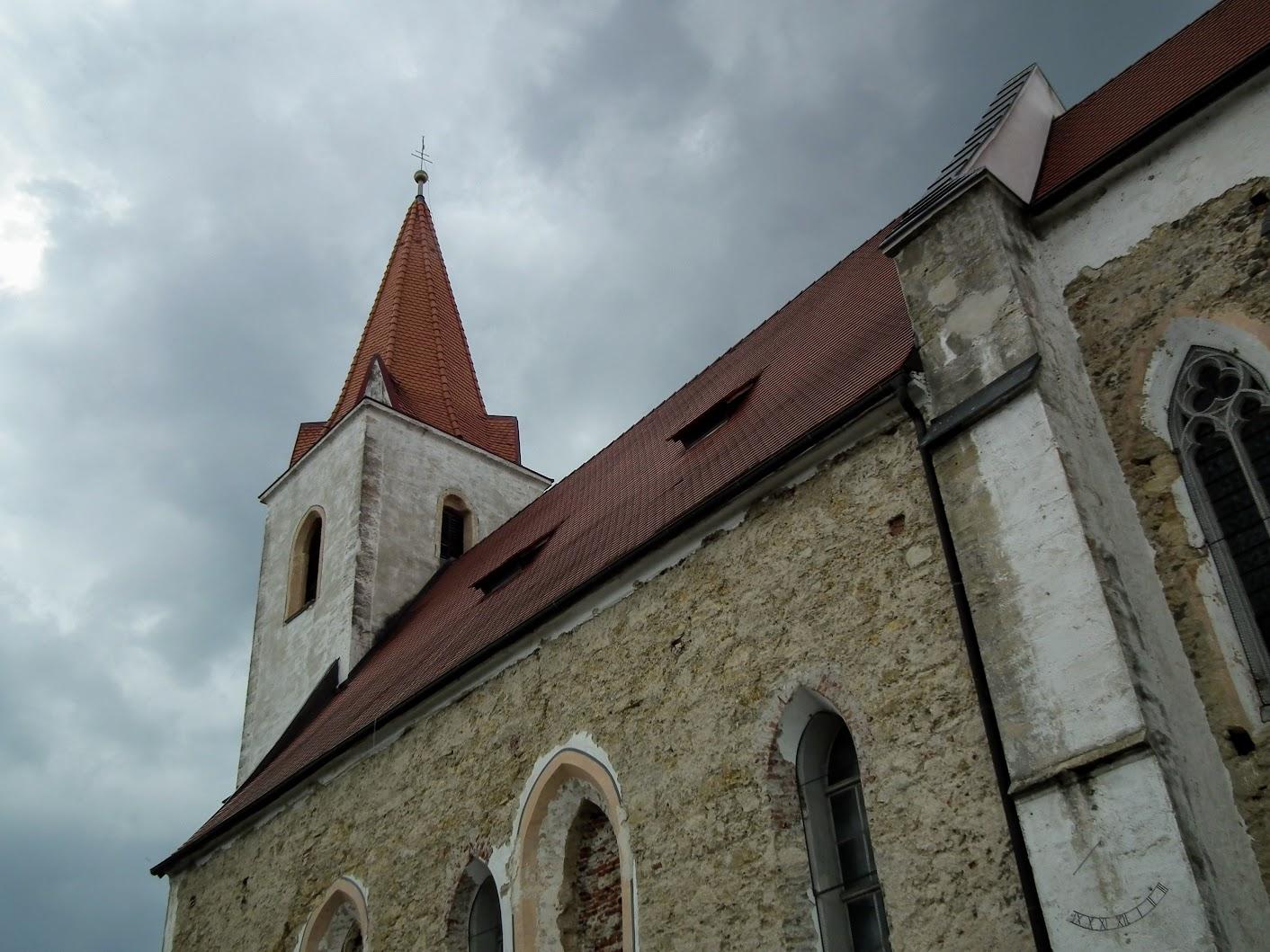 Tišina (Csendlak) - cerkev Marijinega rojstva (Kisboldogasszony templom)
