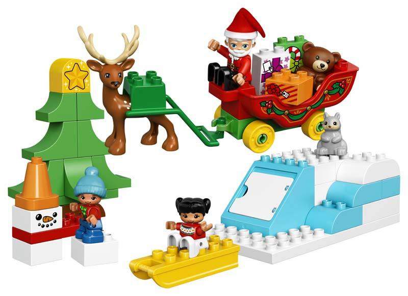 Contenido de Lego® 10837 Trineo de Papá Noel