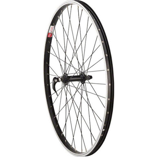 Sta-Tru Front Wheel 26x1.5 Quick Release Axle with 36 Spokes, Black