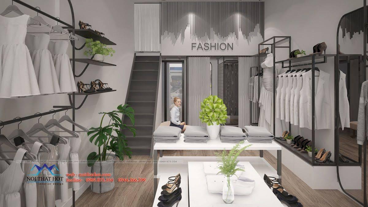 thiết kế shop thời trang hoài đức 9