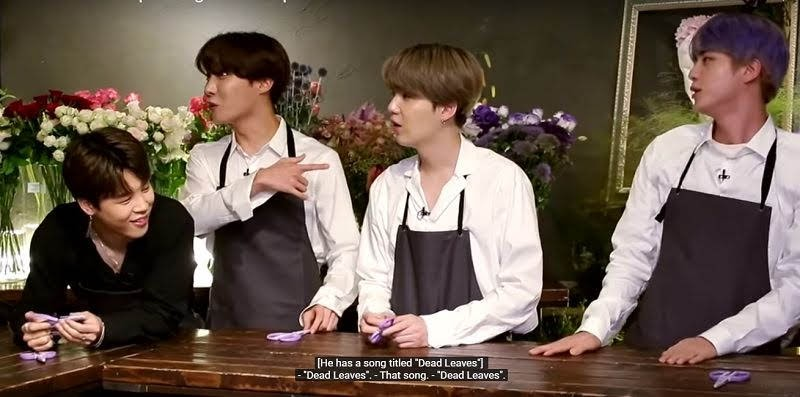 """BTS Suga Birth Flower Resembles to his Song """"DEAD LEAVES"""""""