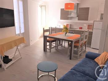 Appartement meublé 2 pièces 48,78 m2