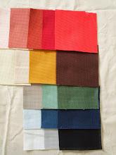 Photo: 杉見糸店で、10cm角のコングレスが全色入ったパックを購入。