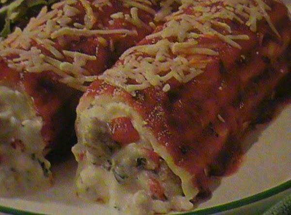 My Manicotti Recipe
