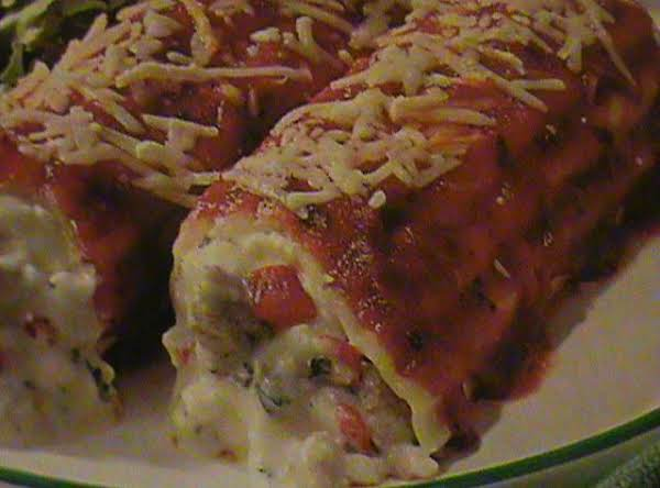 My Manicotti Recipe