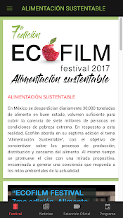 ECOFILM Festival 2017- screenshot thumbnail