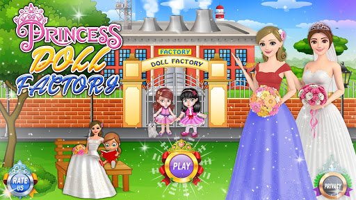 Fashion Doll Factory: Dream Doll Makeover Game 1.0.7 screenshots 1