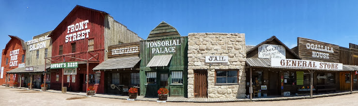 Photo: The Wild West town facade was very picturesque; Deadwood on a smaller scale.