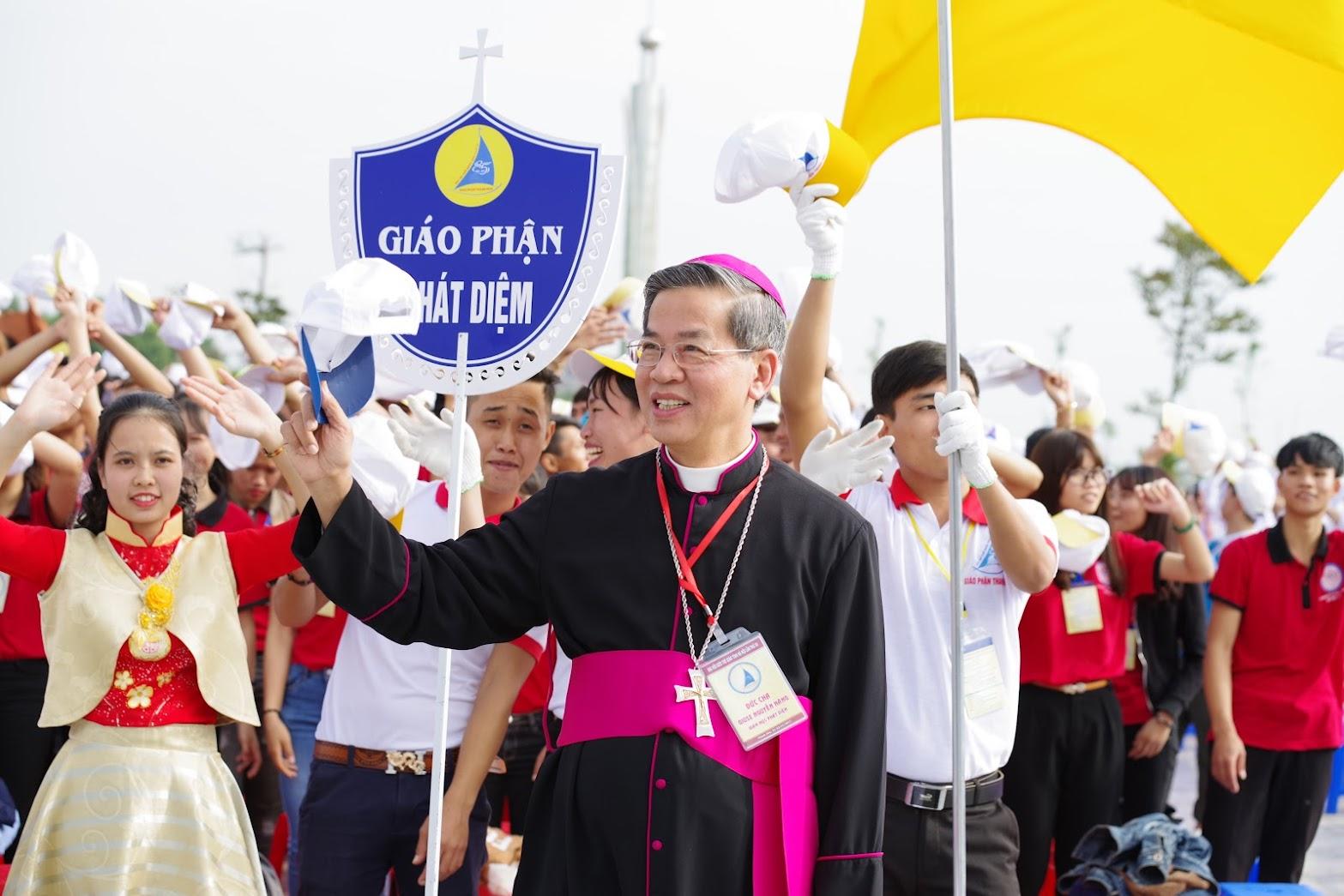 Những hình ảnh đẹp về lễ khai mạc Đại Hội Giới Trẻ giáo tỉnh Hà Nội lần thứ XV tại Thanh Hóa - Ảnh minh hoạ 21
