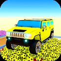 Superhero Doom Jeep Adventure (kids Race) icon