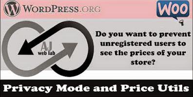 AJ WooCommerce Privacy Mode Plugin