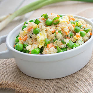 Quinoa and Vegetable Stir Fry.