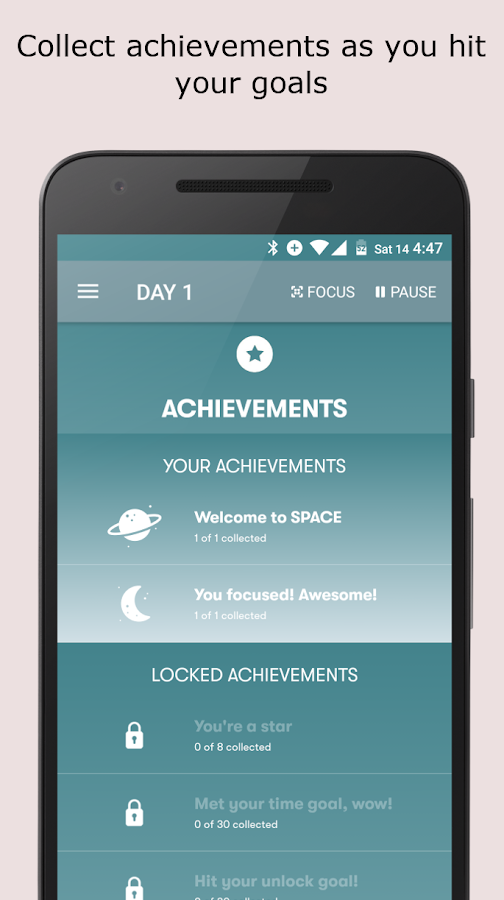 SPACE: Break phone addiction, stay focused- screenshot
