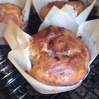 Quince and Oatmeal Muffins.