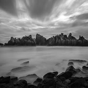 Amazing Kelumbayan by Faizal Ortho - Black & White Landscapes (  )