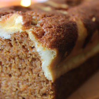 Pumpkin Caramel Cream Cheese Bread