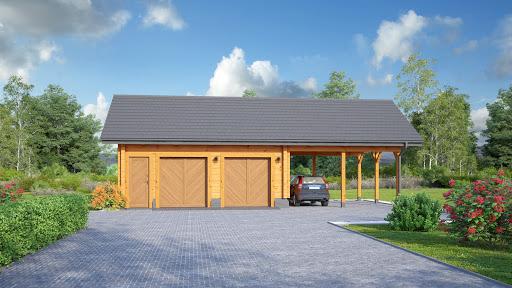 projekt Garaż GD 4w