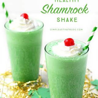 Healthy Shamrock Shake.