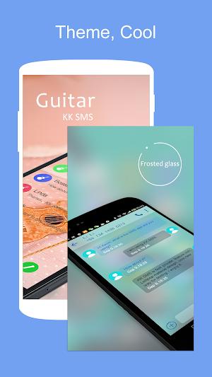 2 SMS KK (SMS/MMS, Lollipop SMS) App screenshot