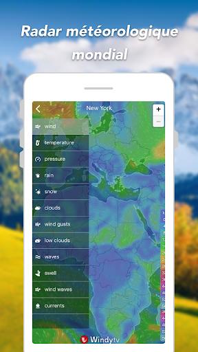 Prévisions météo & Widgets & Radar screenshot 5