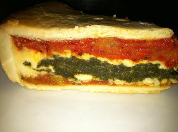Christmas Sammie Pie Italiano ! Recipe