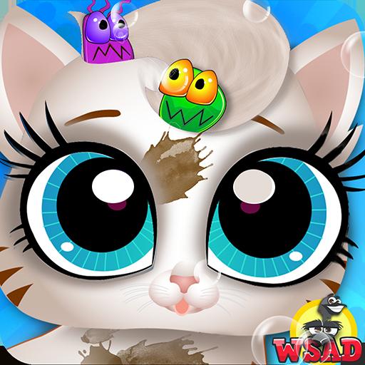 凌乱的宠物 - 清理沙龙 角色扮演 App LOGO-APP試玩