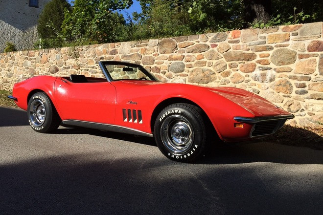1969 Corvette Convertible Hire DE
