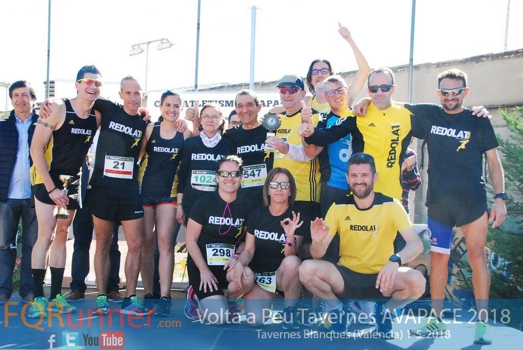 equipo participante más numeroso Redolat Team