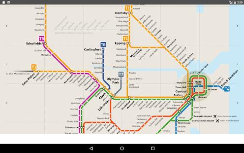 Sydney Metro Map 2017 Apps On Google Play