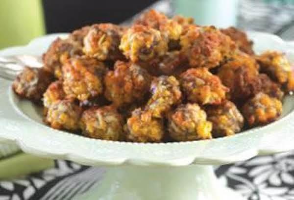 Apple Sausage Balls Recipe