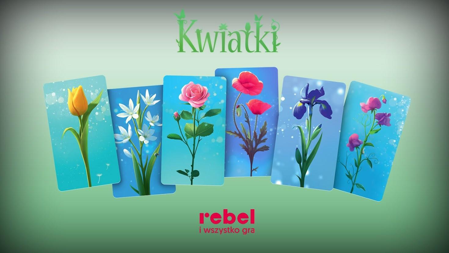 kwiatki rebel gra planszowa