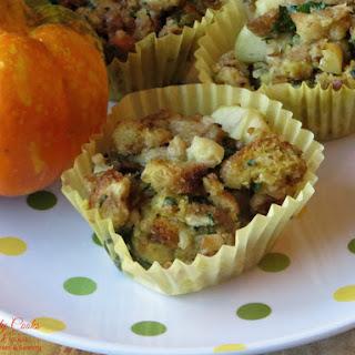 Vegetarian Stuffing Muffins