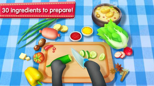 Little Panda's Restaurant MOD (All Recipes Are Unlocked) 2