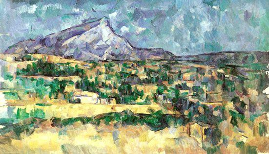 Гора Сент-Виктуар глазами Поля Сезанна