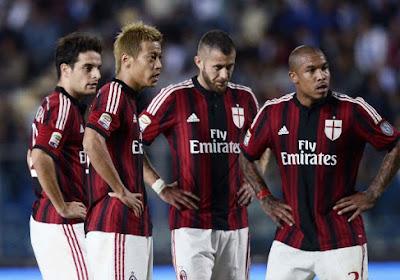 Le Haka de l'AC Milan avant d'affronter Carpi
