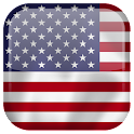 US Flag Live Wallpaper icon