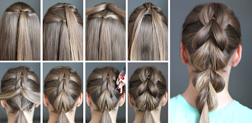 Hairstyles Step By Step Offline Apps On Google Play