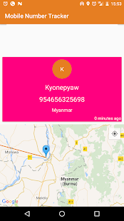 Mobile Number Tracker - Myanmar (Burma) - náhled