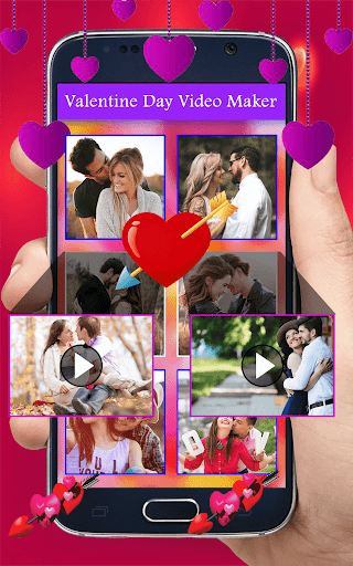Happy Valentine Video Maker 2018 : 14 Feb Video for PC
