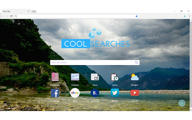 CoolSearches New Tab