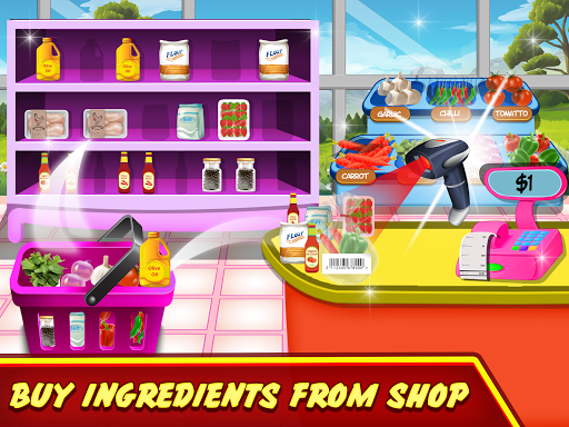 Pizza Maker Kitchen Cooking Mania android2mod screenshots 5