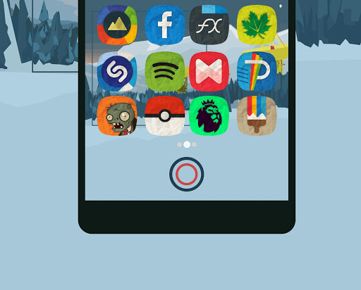 Apl  Rugos Premium - Icon Pack untuk Android screenshot